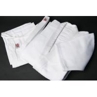 綿100% 機能性に優れており動きやすく肌触り快適 上衣、ズボンセット、白帯付き  ※メーカー取り寄...