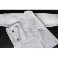 綿100% 白 上衣、ズボンセット、白帯付き  ※綿100%の製品ですので、洗濯(水洗い、陰干し)で...