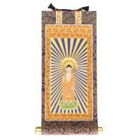 スタンダードな仏壇掛軸です。表装は茶・緑・紺の3色の中からお選びいただけます。端の処理も美しく、末永...