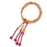 女性用の真言宗本式数珠です。紫水晶、印度翡翠、紅水晶、瑪瑙の4種類からお選びいただけます。主玉は星月...