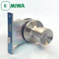 MIWA HMD-1型 握り玉錠セット【室外:シリンダー/ 室内:サムターン】選択サイズ仕様によって...