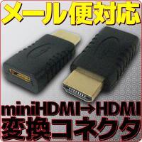 ◆入力側:miniHDMI端子(メス) x 1口 出力側:HDMI(オス) x 1口 ◆付属品:本体...