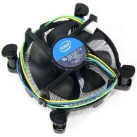 アウトレット インテル純正 CPUクーラー 未使用品 LGA1150 LGA1151 LGA1155 LGA1156 銅ヘッド アルミ放熱フィン プッシュピン 空冷 intel E41759-002
