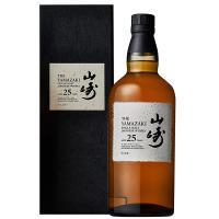ウイスキー サントリー 山崎 25年 43度 ギフトボックス 700ml 洋酒 whisky|e-felicity