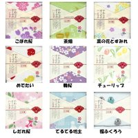 日本の四季を感じさせるモチーフや小紋柄に注目したシリーズ。 ごく細い糸を使って薄くて軽くて乾きが早い...