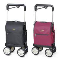 ショッピングカート 軽量 高齢者 敬老の日 須恵廣 ウォーキングキャリーiカート ラブ 買い物カート サイドカート 手押し車 シルバーカー おしゃれ