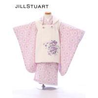 七五三レンタル 女児3歳  3歳女児被布セットは 薔薇柄を敷きつめたジャガード織生地にアンティーク風...