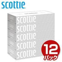 【送料無料】 日本製紙クレシア  スコッティ (SCOTTIE) ティッシュペーパー 200組 5箱...