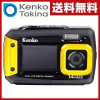 【送料無料】 ケンコー(KENKO)  防水カメラ 1400万画素 (耐ショック/防水/防塵)  D...