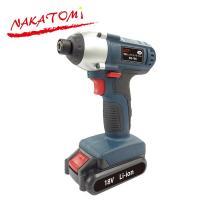 【送料無料】 ナカトミ(NAKATOMI)  18V 充電インパクトドライバー  NID-18N  ...