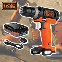 【送料無料】 ブラックアンドデッカー(BLACK&DECKER)  GoPak 10.8V ドリルド...