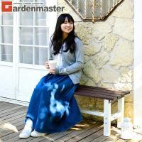 【送料無料】お洒落カラーのガーデンベンチ♪軽いアルミ製で持ち運び楽々! 山善(YAMAZEN) ガー...
