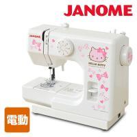 【送料無料】 ジャノメ(JANOME)  ハローキティ コンパクトミシン  KT-W ホワイト  ●...