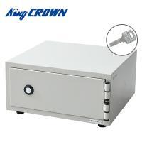 【送料無料】 キング工業(CROWN)   ワンキー式 耐火金庫  CPX-A4 アイボリー  ●本...