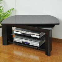 テレビ回転台(幅80) GKE-800(SBK) シャイニーブラック 回転盤 テレビ台 テレビボード テレビラック TV台 TVボード TVラック