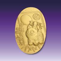 純金小判 天地70ミリ・重量43.5g 造幣局品位検定極印入り 美しいケースに入ります。  一部写真...
