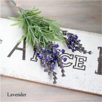 ラベンダーバンドル 6本 造花 インテリア 観葉植物 6778