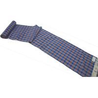 特別処分価格 正絹 紬着尺 みちのく米沢織 藍紅 白根沢 藍染 送料無料