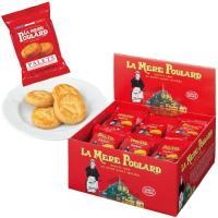 ヨーロッパのお土産 ブルターニュ地方伝統厚焼きガレットクッキー。こんがりと黄金色に焼上がったサクサク...