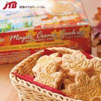アメリカ・カナダのお土産 メープルクリームをはさんだカエデ形のクッキー。カナダの大自然をデザインした...