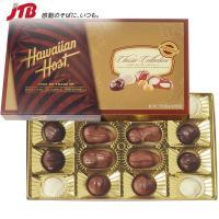 ハワイのお土産 人気の4種類のチョコを詰合せ。クラシックなデザインで贈り物にも最適です。  『Haw...