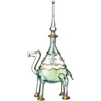 ☆「らくだ」がキュートな香水瓶☆ エジプト、カイロの職人の町ハンハリーリで作られたガラス細工。アラブ...