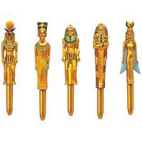 ☆金色に輝くボールペン☆ 金色に輝くファラオ、王妃などエジプトらしいモチーフがボールペンになりました...