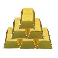 ゴールドティッシュ30W(1個)金塊をデザインしたボックスティッシュ粗品・記念品・景品・ノベルティ