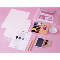 墨絵や日本画に親しんで頂ける初心者用セットです。 必要な用具がすべてそろって、その日からすぐ始められ...