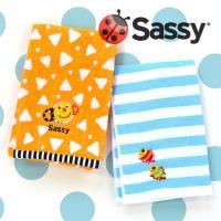 商品名:Sassy(サッシー)フェイスタオル 袋入  ■サイズ等 縦約34cm×横約75cm 綿10...