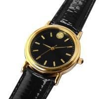日本人の絆を深める逸品  黄金の輝きを放つ菊紋をあしらった存在感を放つ腕時計。 大和の心、精神を体現...