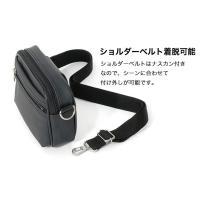 ベルトポーチ ショルダーバッグ兼用 メンズバッグ 豊岡製 かばん エドクルーガー ED KRUGER クラフト 14-0078 ブラウン50