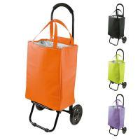 重い荷物もたくさん運べて便利なショッピングカート。 内側は全面保冷シートを使用しているので、食材や飲...