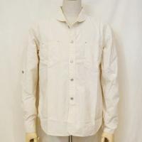 SCH16-L01-生成り-セルビッチシャンブレーワークシャツ長袖16-L01-SCH16L01-SAMURAIJEANS-サムライジーンズ-サムライジーンズシャンブレーシャツ