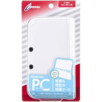 ●キズや汚れを防ぐ透明度の高いNew 3DS LL用プロテクトカバー  軽量で丈夫な高品質ポリカーボ...