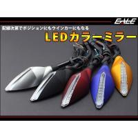 LEDカラーミラー  発光部に3528LEDを9基搭載したLEDカラーミラーです。  ライト類と配線...