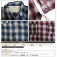 スペルバウンド SPELLBOUND オンブレーチェックワークシャツ 48-719w