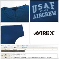 AVIREX アヴィレックス アビレックス レディース ドルマンスリーブ ロング Tシャツ ゆったり 半袖 avi6273115