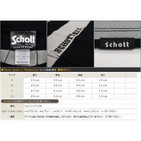 ショット Schott ボーダー ポケット 半袖 Tシャツ クルーネック sch3153013