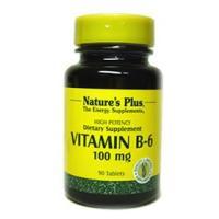 ビタミンB6 100mg (ピリドキシン) ネイチャーズプラス/サプリメント