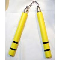 ラバーヌンチャク(廉価版) 片方の長さ:28cm、鎖部分:約18cm 全長:74cm 重量:約180...