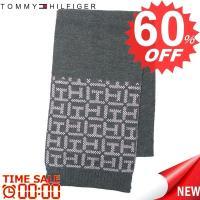 トミーヒルフィガー マフラー TOMMY HILFIGER  H8C4-1600 TH LOGO BORDER 684 PETAL  70%ACRYLIC 30%WOOL 比較対照価格 10,800 円
