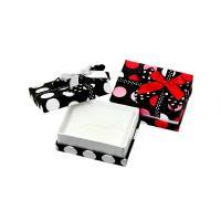 ◆紙 水玉マルチケース包装用品 2色展開◆  ウレタンに多彩なカットが入っているのでペアリング、ペア...
