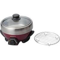■ステンレス鍋は脱着式で、容易にお掃除■お手頃2人前サイズ【返品不可商品】