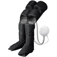 ■ひざ巻きと太もも巻き、巻き方2WAYで脚全体12箇所をマッサージ■温感ヒーターと新開発 足裏用パッ...