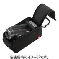 ■お手持ちのバッグに入れてもかさばらない、インナータイプのデジタルビデオカメラケースです■開口部を大...
