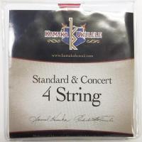 KAMAKA  Standard & Concert String 4 カマカ スタンダード コンサート用ウクレレ弦 【ネコポス(旧速達メール便)送料230円】