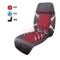 【RAKU】 シートヒーター 加熱 冷却 マッサージ 12V 3Way 車 座席用 ヒーター搭載 3D換気孔 クールシート 日本語説明書付き 運転席&助手席両方対応