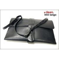 dean(ディーン) laptop bag レザーバッグ 黒