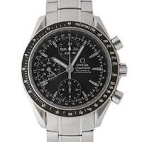 ■黒の文字盤がシンプルで印象的な腕時計!幅広いシーンでお使いいただけるオールマイティさが◎使いやすい...